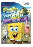 SpongeBob SquarePants: Plankton's Robotic Revenge - Nintendo Wii Kids Game U