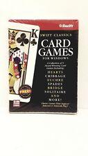 Swift: Classic Card Games for Windows (PC, 1998) BIG BOX NEW & SEALED FREE SHIPP