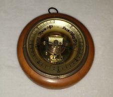Lufft Germany Wood & Brass ATCO Barometer