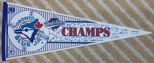Toronto Blue Jays 1992 World Series Champions Full Size MLB baseball Pennant