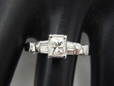Anillo de Compromiso Diamante Princesa Platino 1.62 Tcw H/SI3 Impresionante
