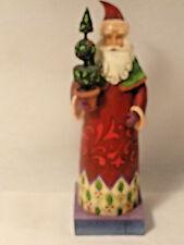 Jim Shore Santa Figurine Holiday Trim 8 inch - NO BOX