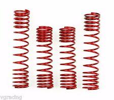 Traxxas Rustler Red Heavy Duty Progressive Springs Set VXL XL-5 Brushed Brushles