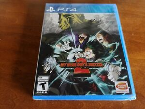 My Hero One's Justice 2 (Sony PlayStation 4, 2020) PS4 - Brand NEW