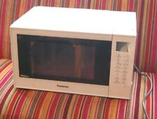 White Panasonic NN-CT55JW 1000W Combination Microwave Oven Grill