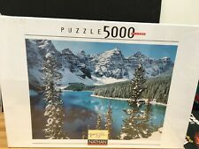 NEW Nathan 5000 Piece Jigsaw Puzzle Early Snow SEALED EXCELLENT 101 X 153 CMS