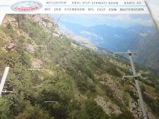 Alpenbahnen N Westalpen Schweiz Brig Visp Zermatt Bahn K 42-44