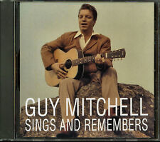 Guy Mitchell - Sings & Remembers (CD, Dec-1995, Sony Music Distribution)
