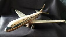 ANTIQUE METAL AIRPLANE AIRCRAFT TOY PAN AMERICAN BOEING 707