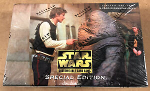 Star Wars CCG Special Edition Limited Booster Box (2008, Decipher) Sealed SWCCG