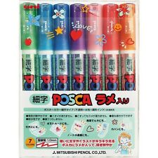 Uni PC3ML7C POSCA DO JAPAN Drawing Pen Pens 7 Extra-Fine1.0mm