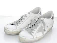 09-33 $530 Women Sz 39M Golden Goose Superstar Leather Lace Low Top Sneaker