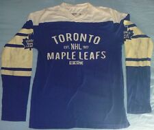 AUTHENTIC Toronto Maple Leafs CCM PRO Faux Faded 1917 SEWN Jersey-Shirt S/Small