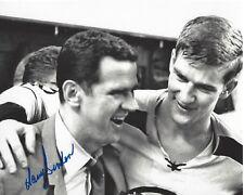 BOSTON BRUINS HARRY SINDEN HAND SIGNED 8x10 PHOTO w/COA STANLEY CUP CHAMPION