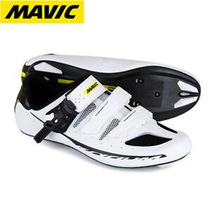Mavic Ksyrium Elite Maxi II Mens Cycling Shoes - White (Wide Fit)