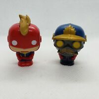 Mini FUNKO POP! Marvel Disney Figures Figurines Captain Marvel Nova Corps 1.5""