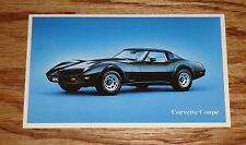 Original 1979 Chevrolet Corvette Coupe Post Card 79 Chevy