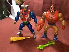 vintage he-man action figures lot