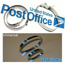 Universal Car Drive CV Boot Stainless Steel Joint Clamps Kit 20PCS / Set #