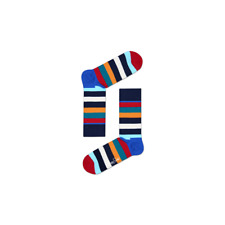 Happy Socks Stripe Socks, Blue/Multi