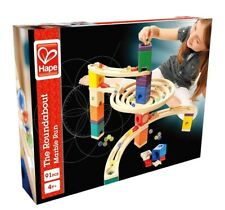 - NEW - Hape The Roundabout Quadrilla Marble Run - E6005 - 91 Pcs -