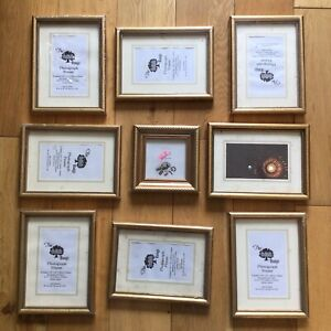 Job Lot Small Picture Photo Frames Art Painting Crafting x9