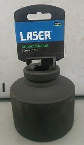 "Laser Tools Impact Socket 70mm 1"" Drive - 4680"