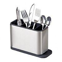 Surface Stainless-Steel Kitchen Utensil Cutlery Drainer Storage Washing Drawer