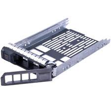 """3.5"""" SAS SATA Hard Drive Tray Caddy disco rigido per Dell Server R310 R510* M5x2"""