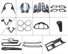 29PCS Carbon Fiber Car Interior Kit Cover Trim For Honda Fit 2014-2019