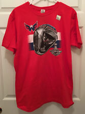NWT Washington Capitals 2018 NHL Stanley Cup Champions Rings Red T-Shirt XL 64fc572a1