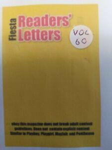 Fiesta Readers Letters Volume 60