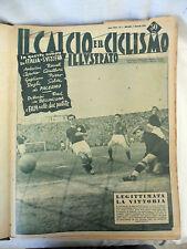 IL CALCIO E IL CICLISMO ILLUSTRATO ANNATA COMPLETA RILEGATA 1953 Rivista Sport