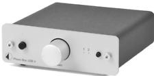 Pro-Ject Phono Box USB V MM / MC Phono Preamplifier Silver BNIB