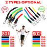 11Pcs/Set Resistance Bands Fitness Tubes Workout Training Pilates Yoga Exercise