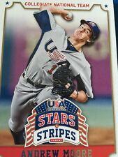 Baseball Cards Minor League USA Andrew Moore