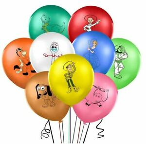 9 Toy Story Latex Balloons Birthday Party Decoration Supply