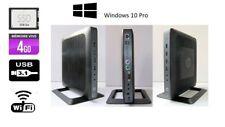 ORDINATEUR DE BUREAU  HP T620 WINDOWS 10 PRO DISQUE DUR 256 Go SSD 4 GO WIFI