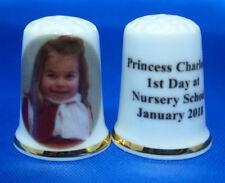 Birchcroft China Thimble -- Princess Charlotte 1st Day at Nursery  -- Free Box