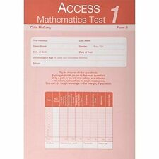 Access Mathematics Test 1 (Primary), Form B PK10: Primary Test 1, form B, Excell