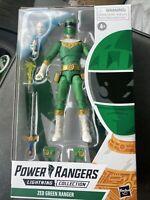 "POWER RANGERS LIGHTNING COLLECTION- ZEO GREEN RANGER 6"" ACTION FIGURE! HASBRO!"