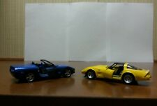 MAISTO DIE CAST MODEL CARS - CORVETTES, PT CRUISERS, ROLLS ROYCE