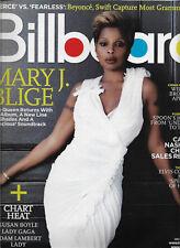 Billboard Magazine December 12 2009 Mary J. Blige Chris Brown Spoon Jenni Rivera