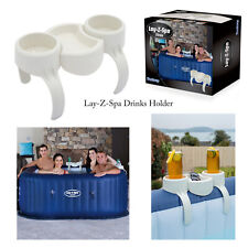 Lay-Z-Spa Hot Tub Pool 2 Cup Drinks Holder & Snack Tray Jacuzzi Spa Accessories