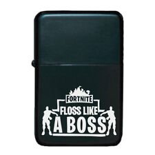 STAR Lighter in Black – Battle Royale - Fortnite Floss Like A Boss Design 1