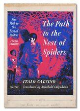 Italo Calvino-PATH TO THE NEST OF SPIDERS [1956]-ORIG. ARTWORK BY TREVOR DENNING