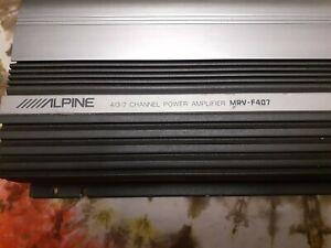 Alpine V-12 MRV-F407 4/3/2 Channel Amplifier OG Old School! Legendary SQ!!!