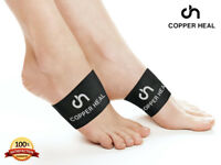 Arch Copper Compression Support Brace (PAIR) COPPER HEAL Foot Plantar Fasciitis