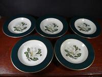 """Set of 5 Arcadian - Prestige Windsor Soup Bowls 8"""""""