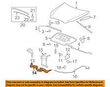 Buick GM OEM 06-11 Lucerne Hood-Latch Support 25765115